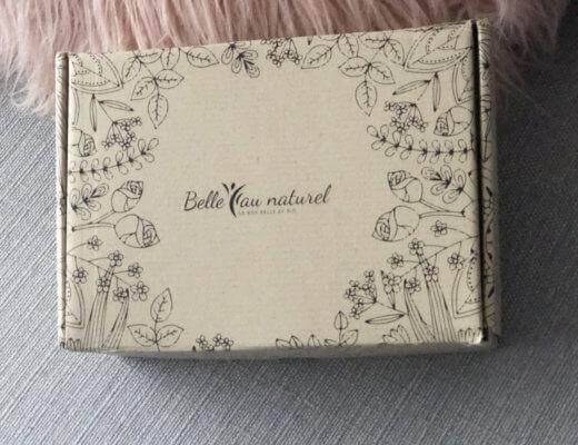 """Test de la box Belle au naturel """"Tendre Romance"""""""