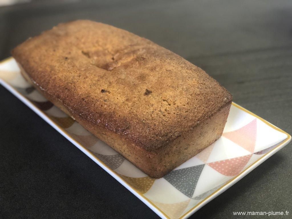La recette de mon cake au citron pavot
