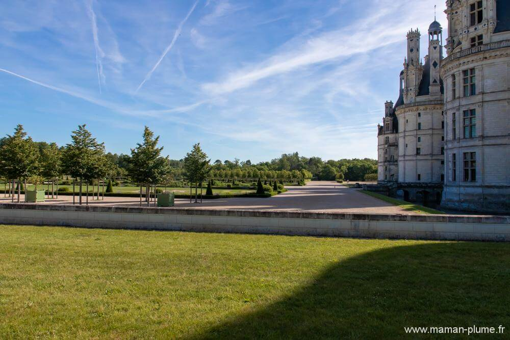 Promenade autour du château de Chambord