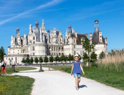Muides-sur-loire, les châteaux avec les enfants