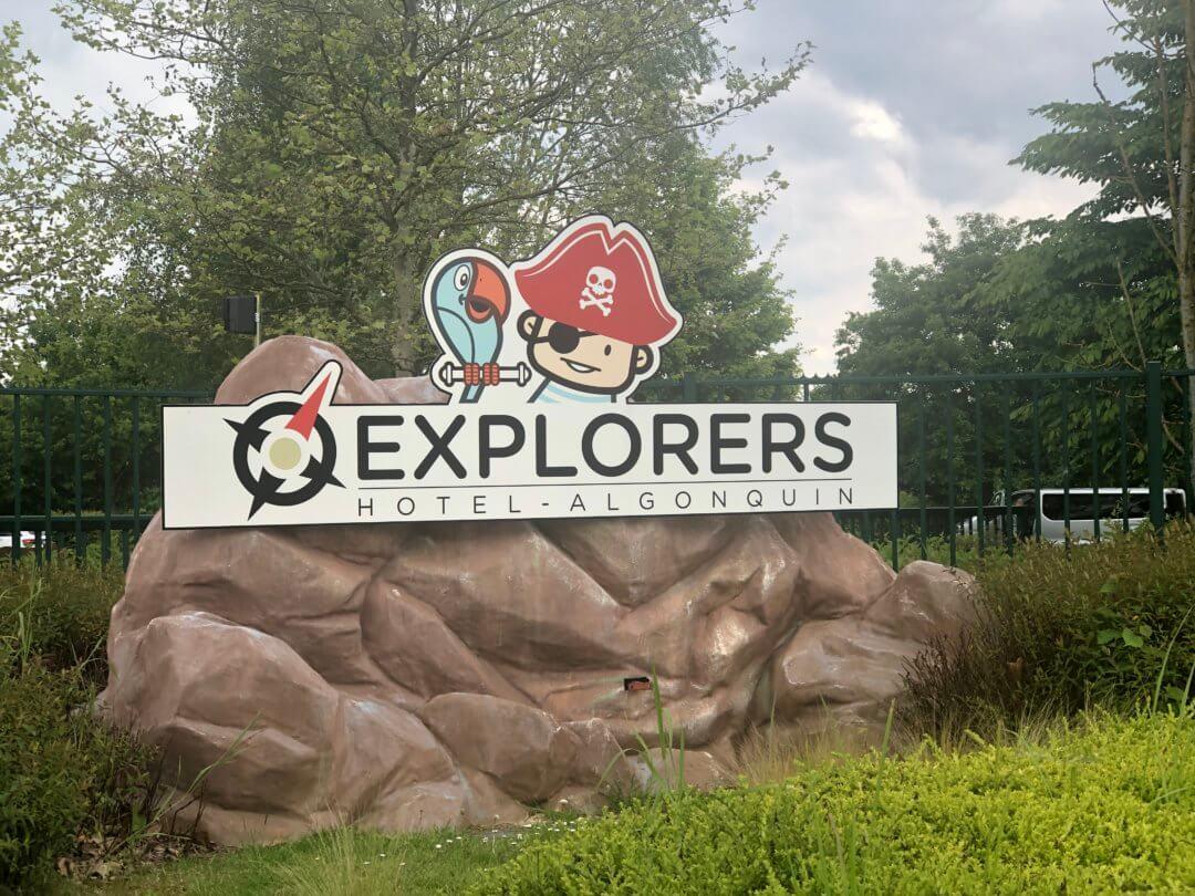 Découverte de l'hôtel Explorers, l'hôtel des enfants !