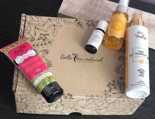 """Test de la box Belle au naturel """"Bonheur Ensoleillé"""""""