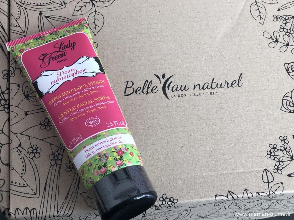 Test de la box Belle au naturel «Bonheur Ensoleillé»