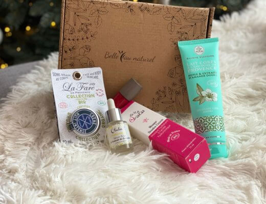 "Test de la box Belle au naturel ""Féérie de Noël"""