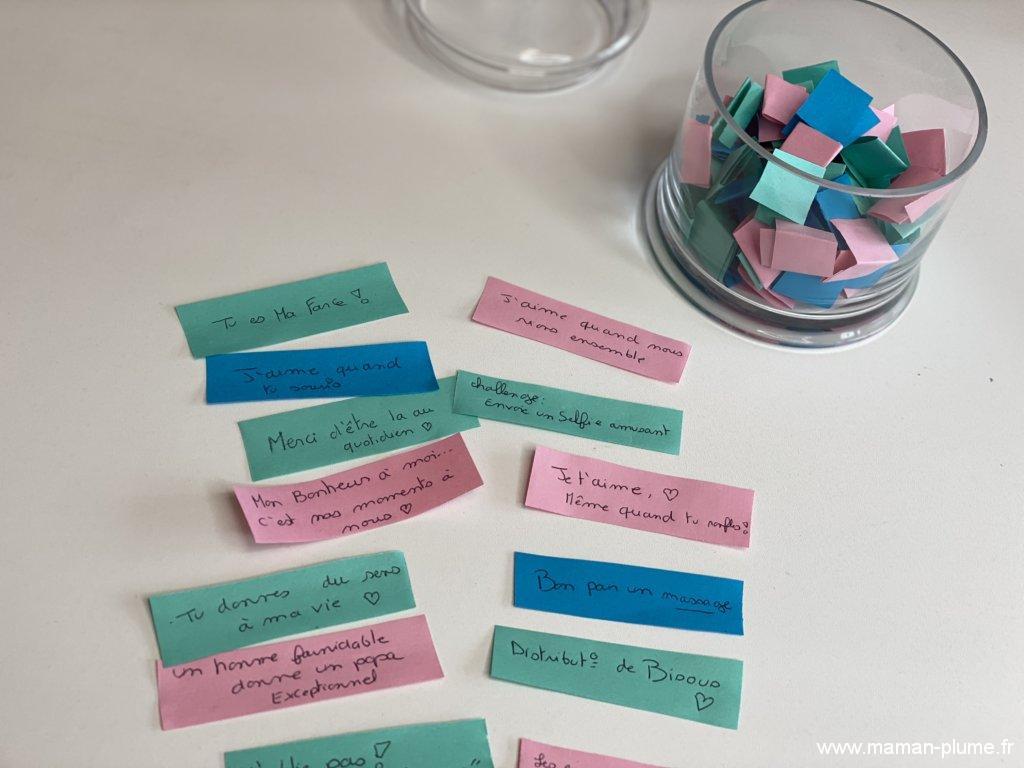 Des mots doux pour la Saint Valentin, DIY