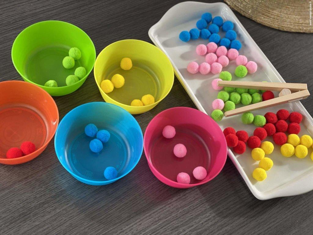 Plusieurs idées de jeux Montessori à imprimer !