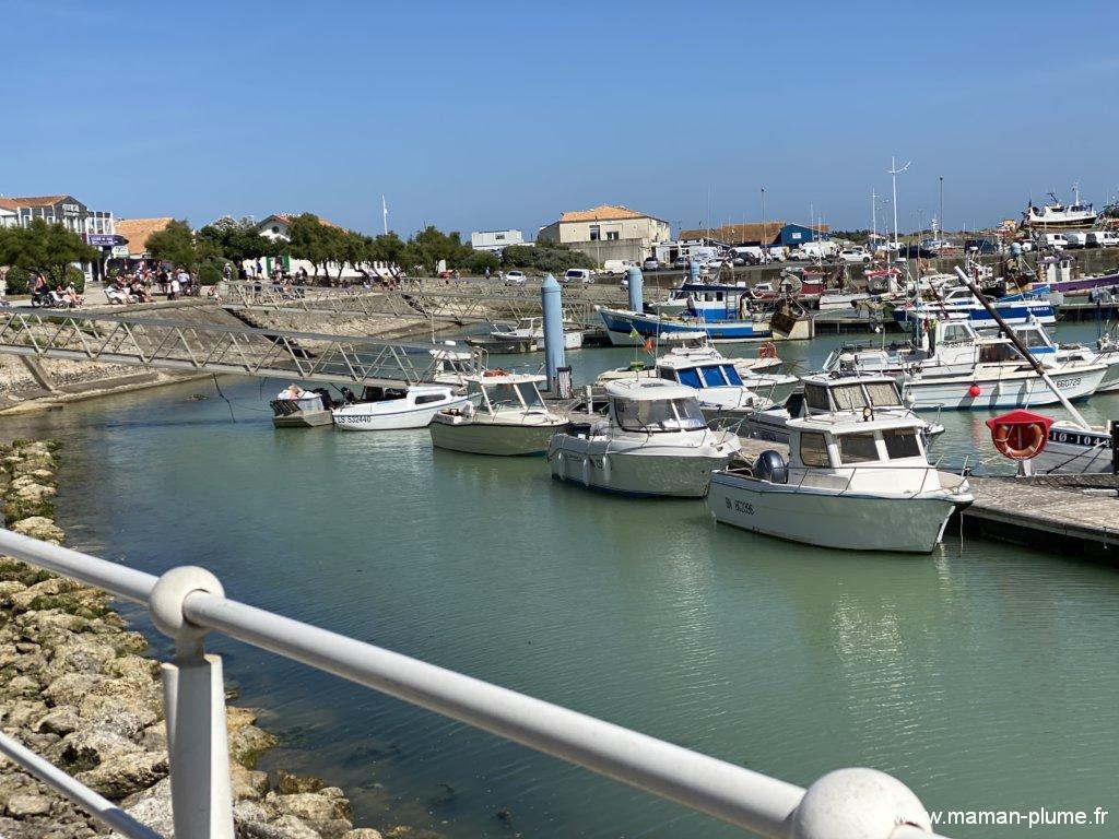 Visite du port de la Cotinière, en vélo !
