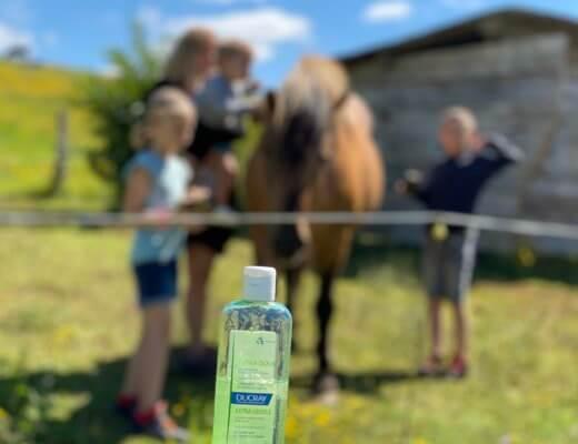 Le shampoing familial Ducray dans notre Salle de bain !
