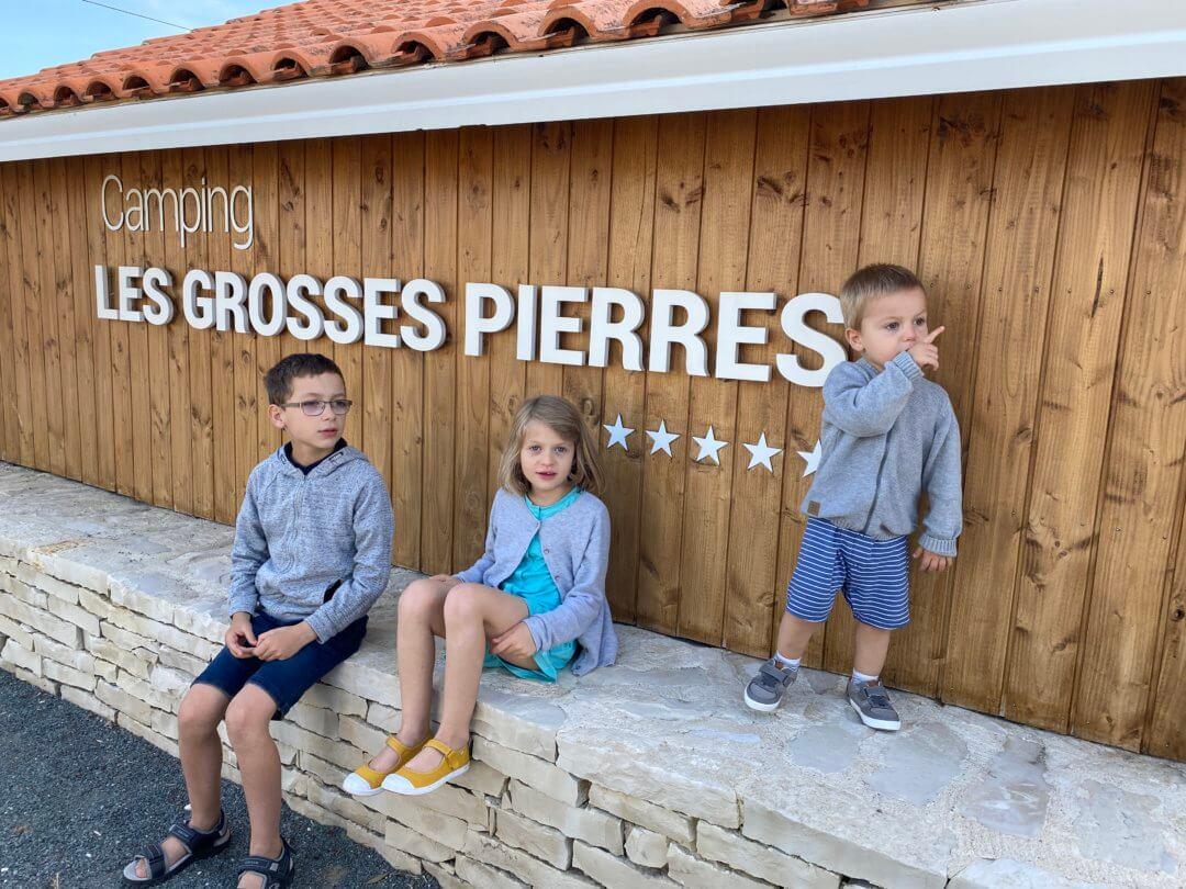 Notre séjour au camping les Grosses Pierres sur l'île d'Oléron