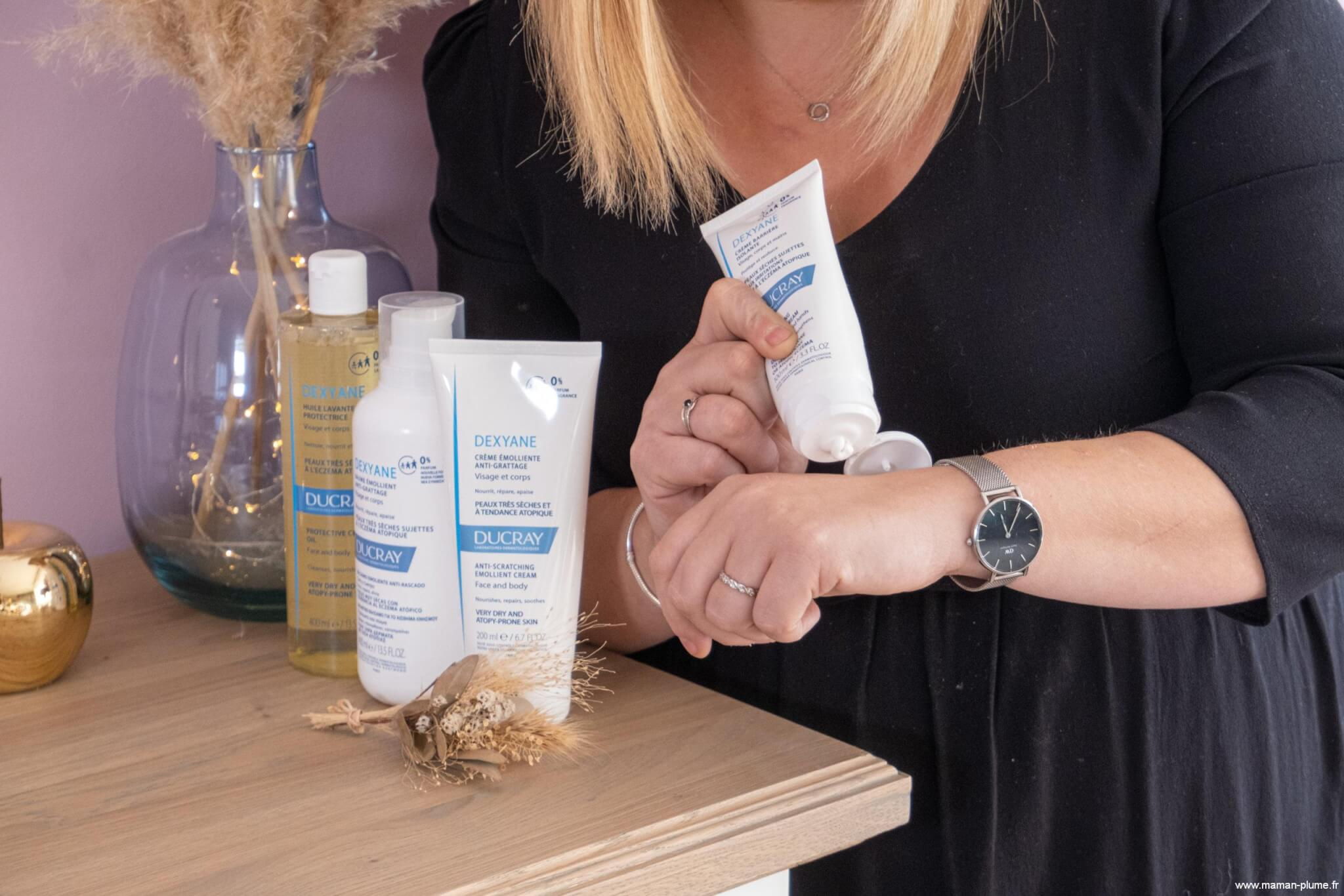 Comment on gère l'eczema des enfants avec Dexyane à la maison !