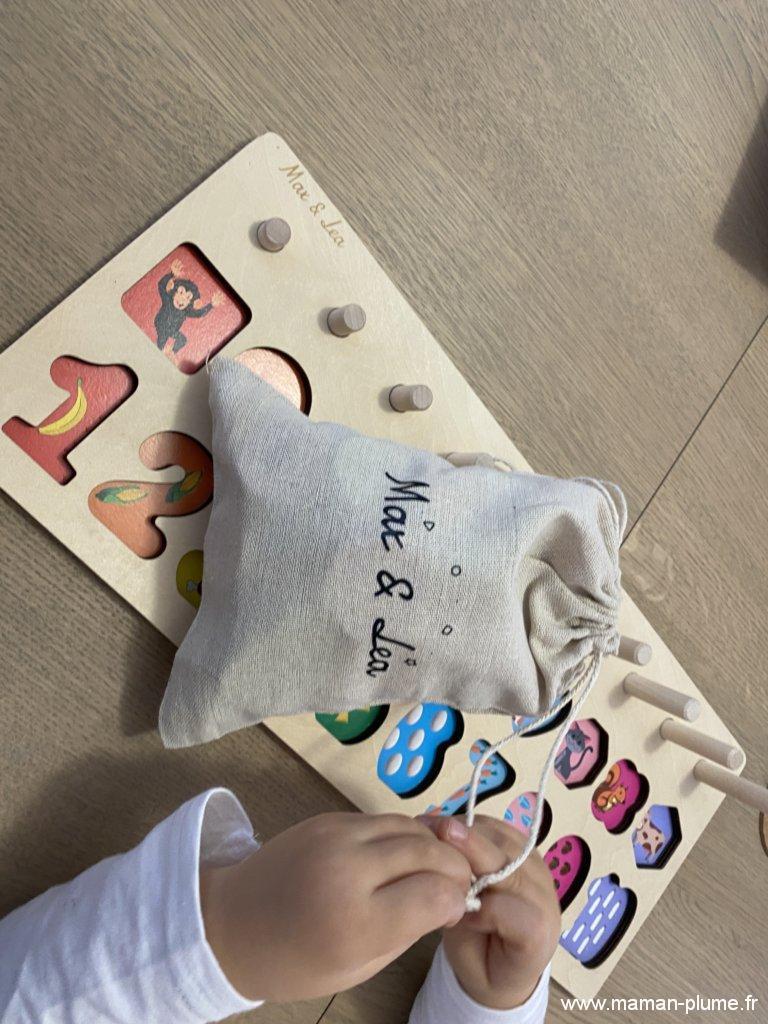Coup de coeur pour les jouets bois de Max & Léa !