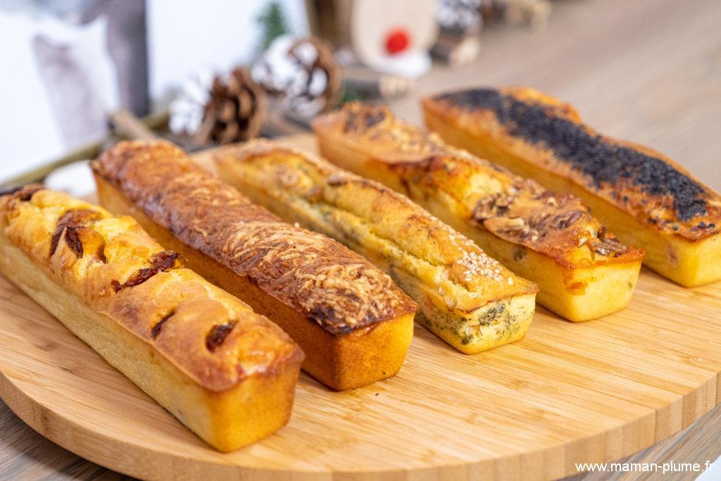 5 cakes salés pour préparer vos apéritifs