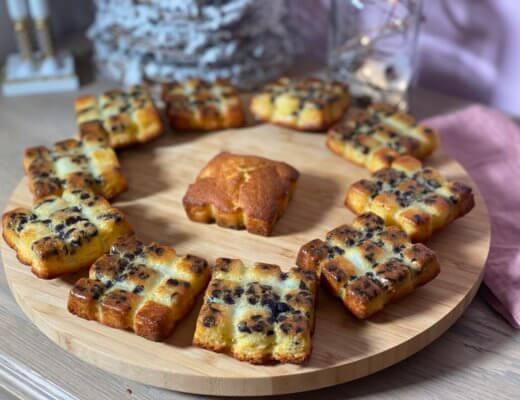 Minis tablettes amandes pomme chocolat !