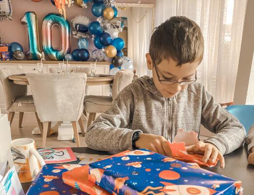 Idées cadeaux pour les 10 ans de mon garçon !