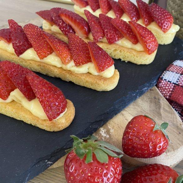 Recette – Les Tartelettes à la fraise